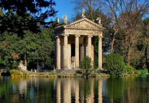 Villa Borghese wRzymie, Włochy