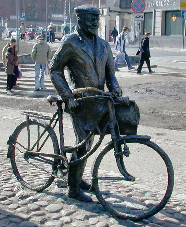 Stary Marych - symbol gwary poznańskiej