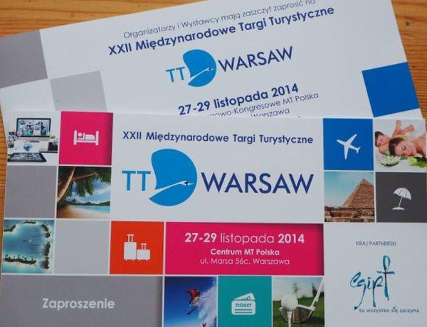 XXII Międzynarodowe Targi Turystyczne TT Warsaw 2014