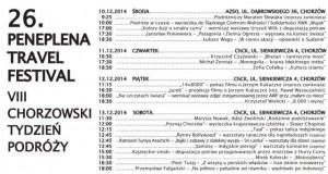 6. Peneplena Travel Festival – 8. Chorzowski Tydzień Podróży