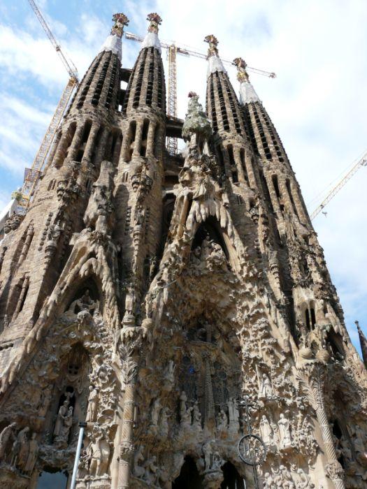Sagrada Familia wBarcelonie, Hiszpania