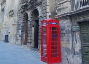 Budka telefoniczna naMalcie
