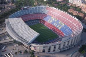 Camp Nou - jeden znajwiększych stadionów naświecie, zdj. wallfootballclubs.com