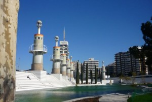 Parc de l'Espanya Industrial wBarcelonie