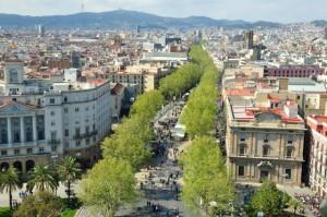 Ramblas - najsłynniejsza promenada wBarcelonie
