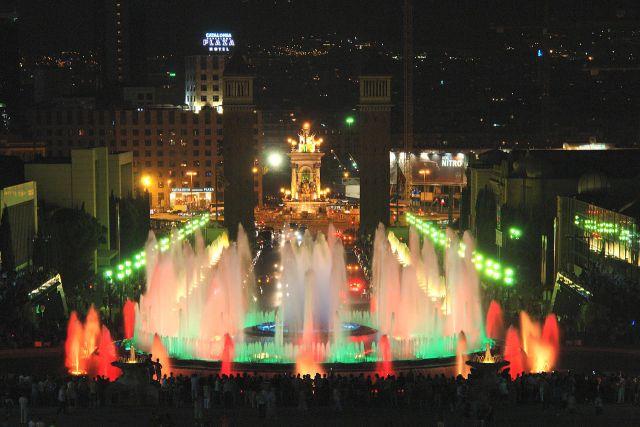 Font Magica, magiczna fontanna wsamym sercu Barcelony
