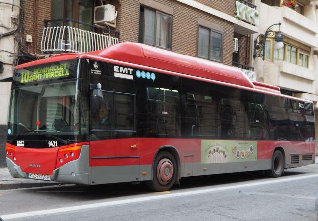 Autobus EMT wWalencji