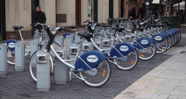 Rowery są bardzo popularne wWalencji