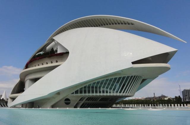 Pałac Sztuki im. Królowej Zofii (El Palau de les Arts Reina Sofía), Miasteczko Sztuki iNauki, Walencja