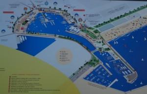 Mapa portu wWalencji