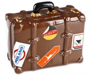 Skarbonka - walizka - prezenty podróżnicze