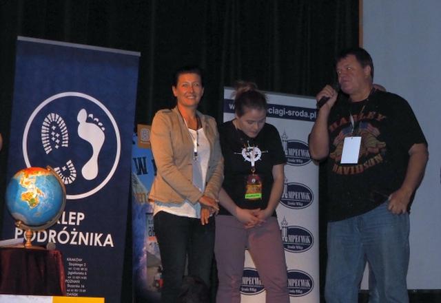 Laureaci IIFestiwalu Podróżniczego Klubu Szalonego Podróżnika