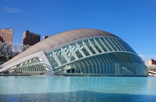 Planetarium (L'Hemisfèric), Miasteczko Sztuki iNauki, Walencja