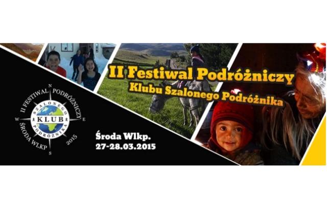 II Festiwal Podróżniczy w Środzie Wielkopolskiej