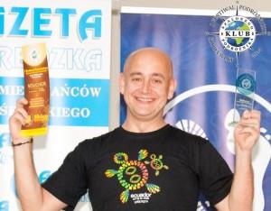 Robert Gondek - zwycięzca Iedycji Festiwalu Podróżniczego Klubu Szalonego Podróżnika
