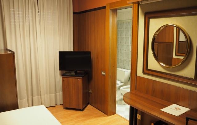Grand Hotel Elite - pokój jednoosobowy, Bolonia