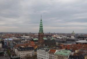 Kopenhaga, stolica Danii - widok zwieży