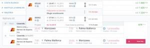 Traveloppa.com - otrzymane wyniki wyszukiwania