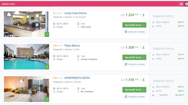 Traveloppa.com - wyniki wyszukiwania hoteli