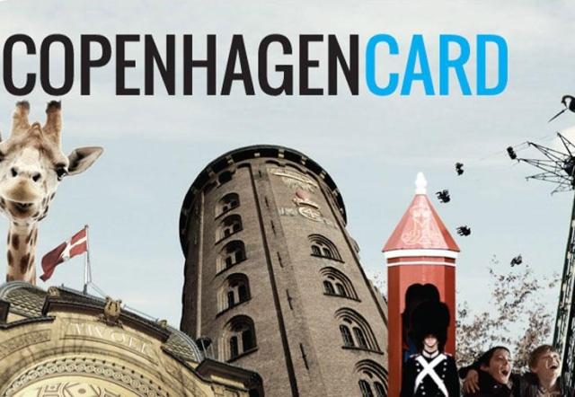 Copenhagen Card - bilety poKopenhadze