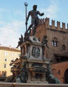 Piazza Nettuno, Bolonia, Włochy