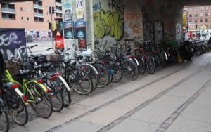 Rowery wKopenhadze