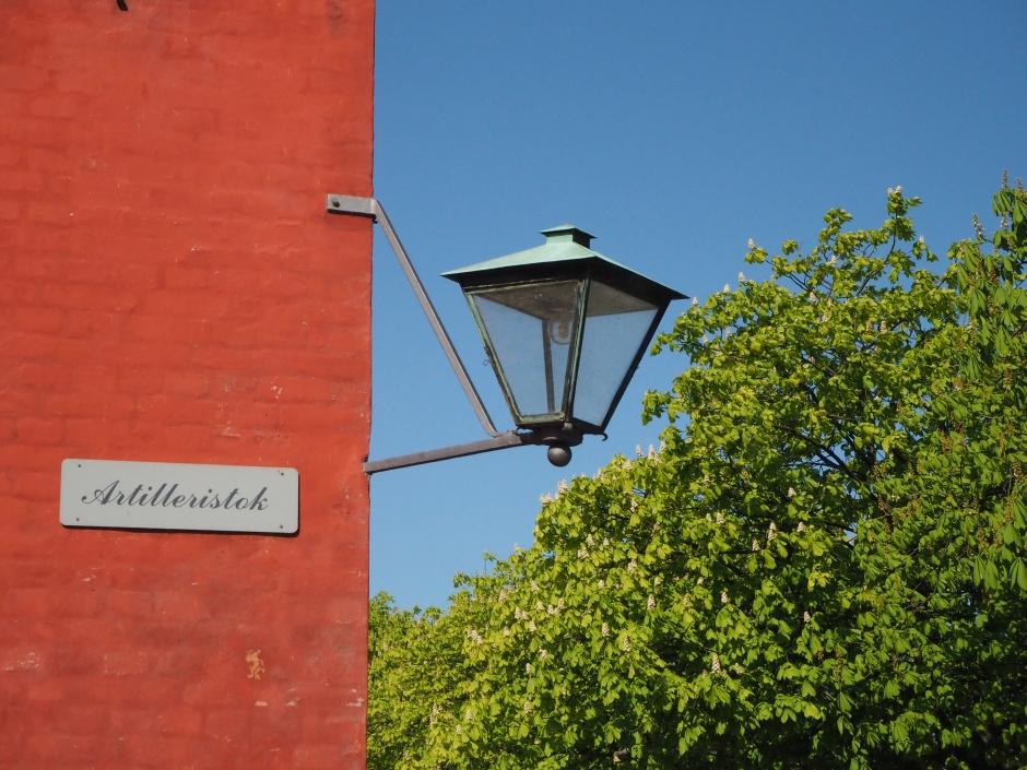 Kastellek, uliczka czerwonych domków