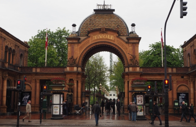 Kopenhaga Ogrody Tivoli