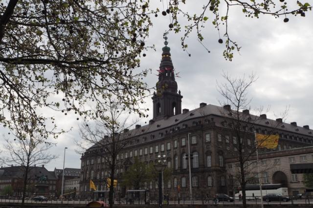 Pałac Christiansborg, Kopenhaga