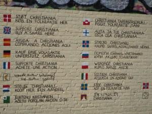 Wolne Miasto Christiania, Kopenhaga