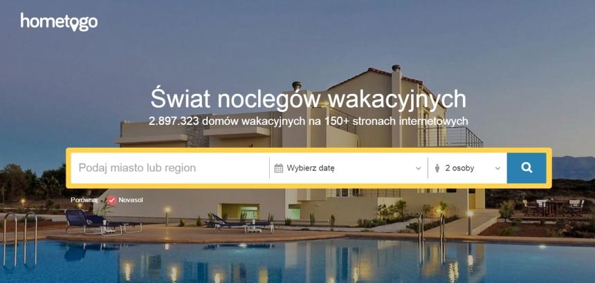Hometogo.pl - wyszukiwarka noclegów