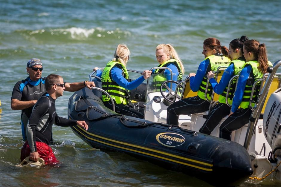 Wodne zabawy, Acer nadmorzem, spotkanie blogerów
