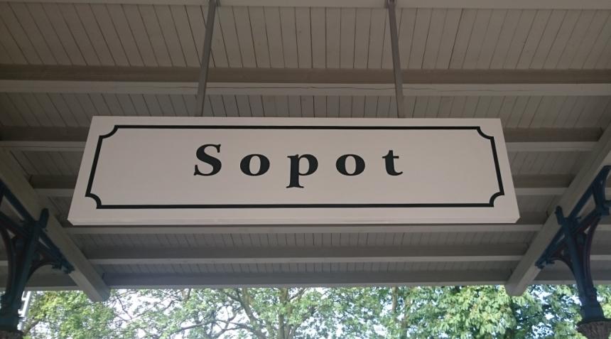 Sopot, dworzec główny