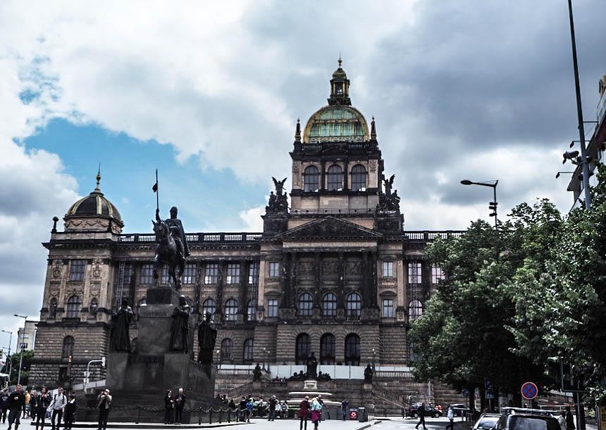 Muzeum Narodowe naplacu Wacława
