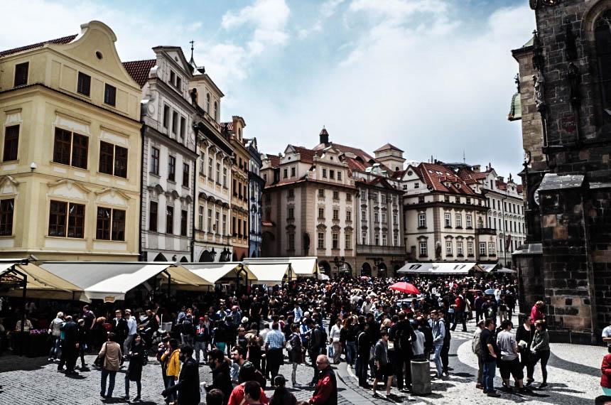 Rynek Starego Miasta - Praga, Czechy