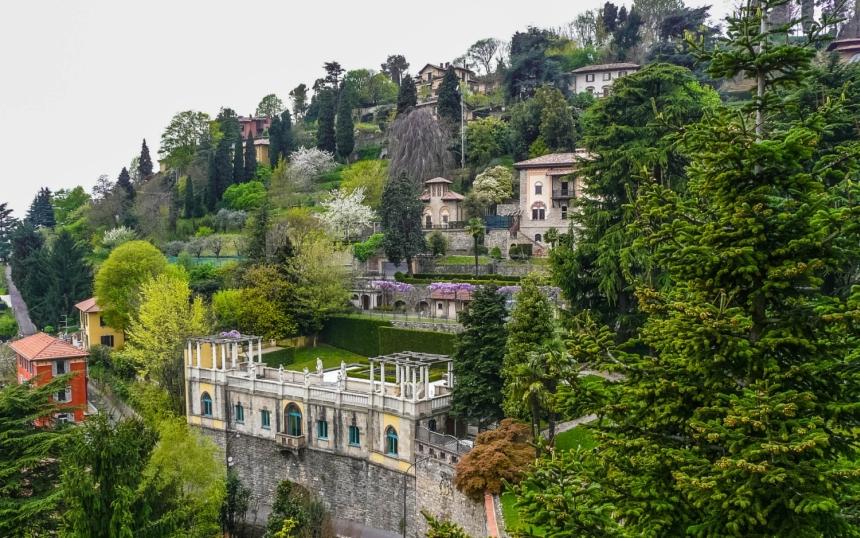 Ogrody wBergamo, Włochy