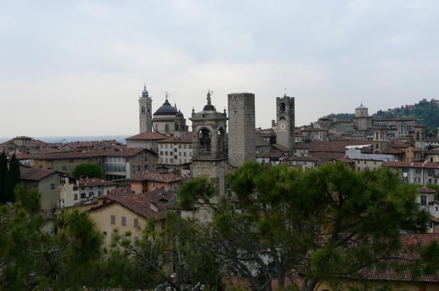 Bergamo Alta Górne Miasto