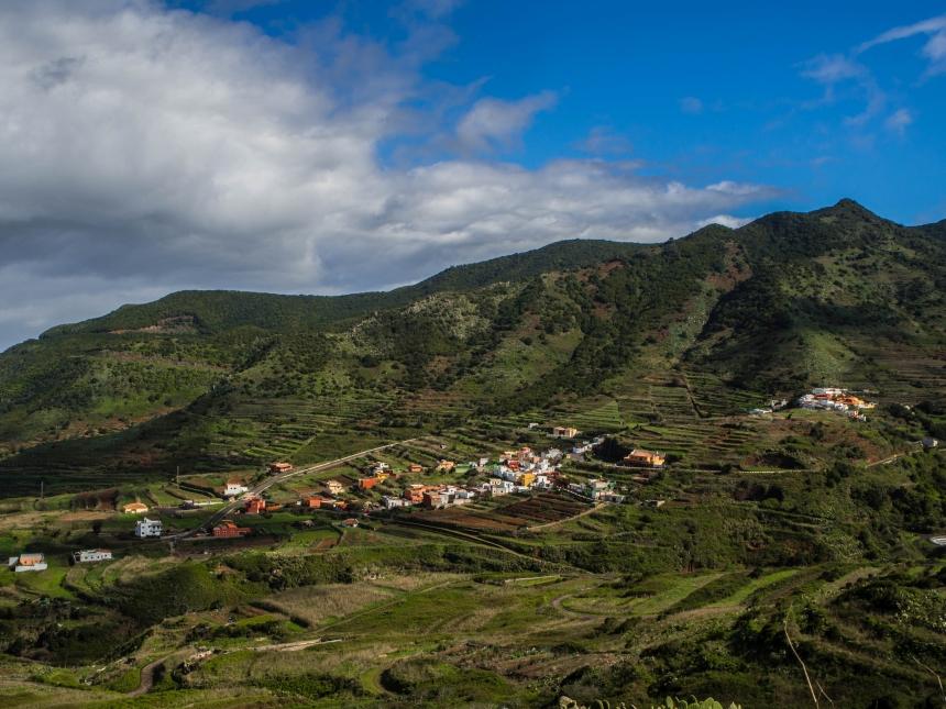 Teneryfa, zachód, Góry Teno