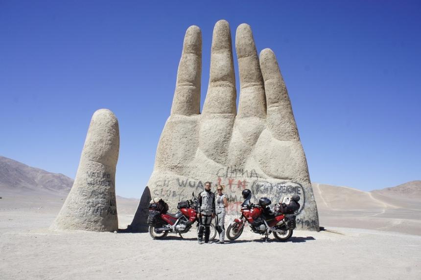 Pod niebem Patagonii czyli motocyklowa wyprawa po Ameryce Południowej
