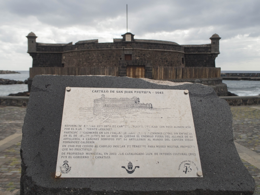 Castillo de San Juan Pautista, Santa Cruz de Tenerife