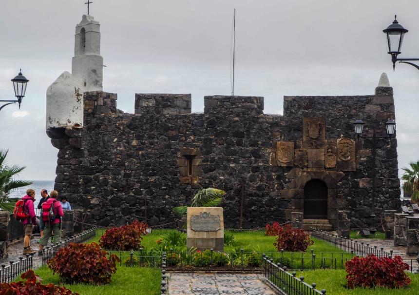 Castillo de San Miguel wGarachico, Teneryfa