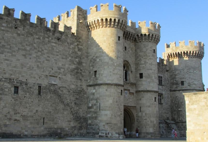 Pałac Wielkich Mistrzów, Rodos
