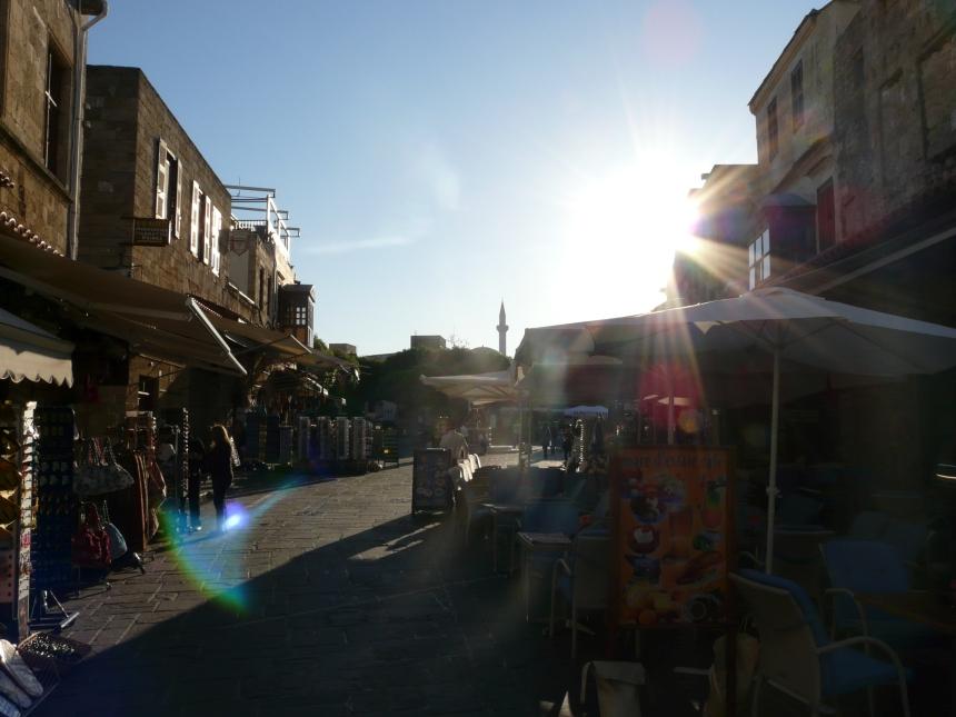 Miasto Rodos, Grecja