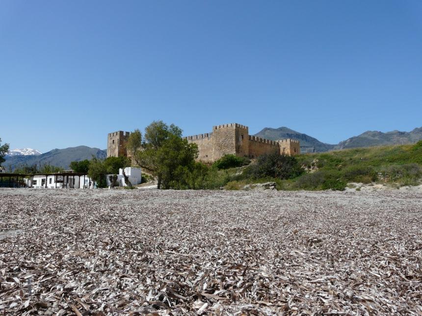 Kreta, Zamek Frangokastello
