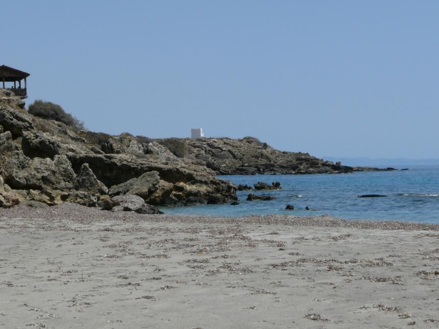 Plaża wChora Sfakion, Kreta