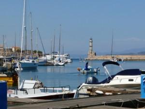 Port wChanii, Kreta