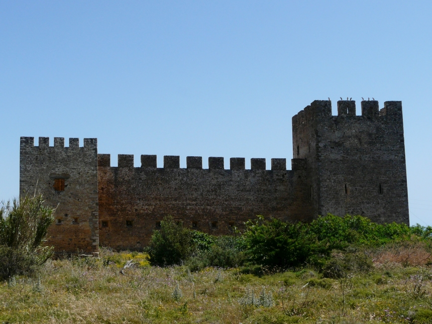 Zamek Frangokastello, Kreta