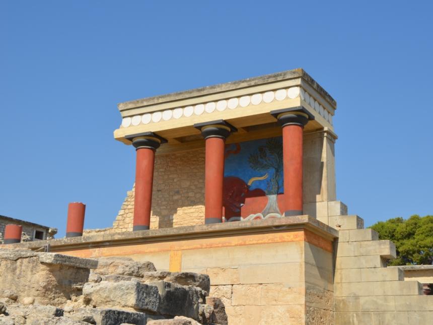 Pałac wKnossos, Kreta