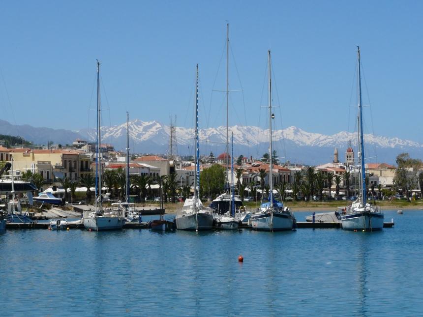 Rethymno - port wenecki naKrecie