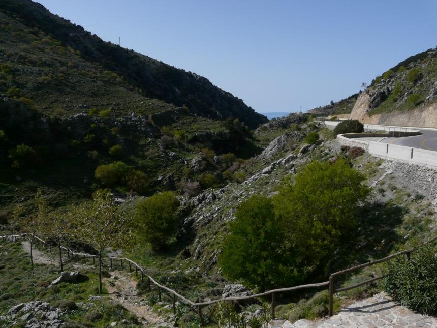 Wąwóz Imbros, Kreta